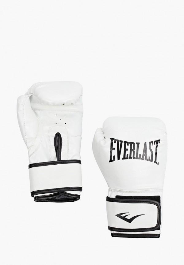 Перчатки боксерские Everlast белого цвета