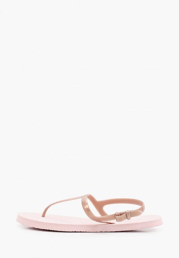 женские сандалии puma, розовые