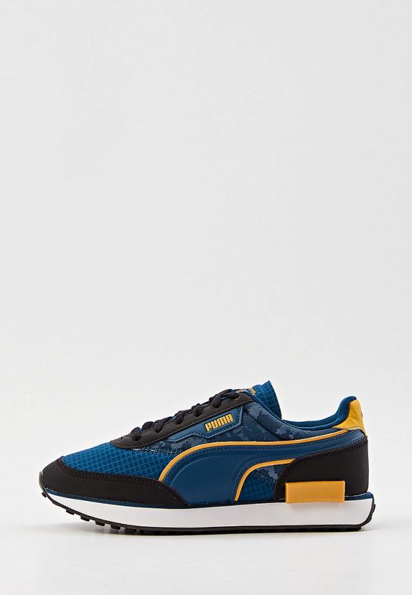 Кроссовки PUMA синего цвета