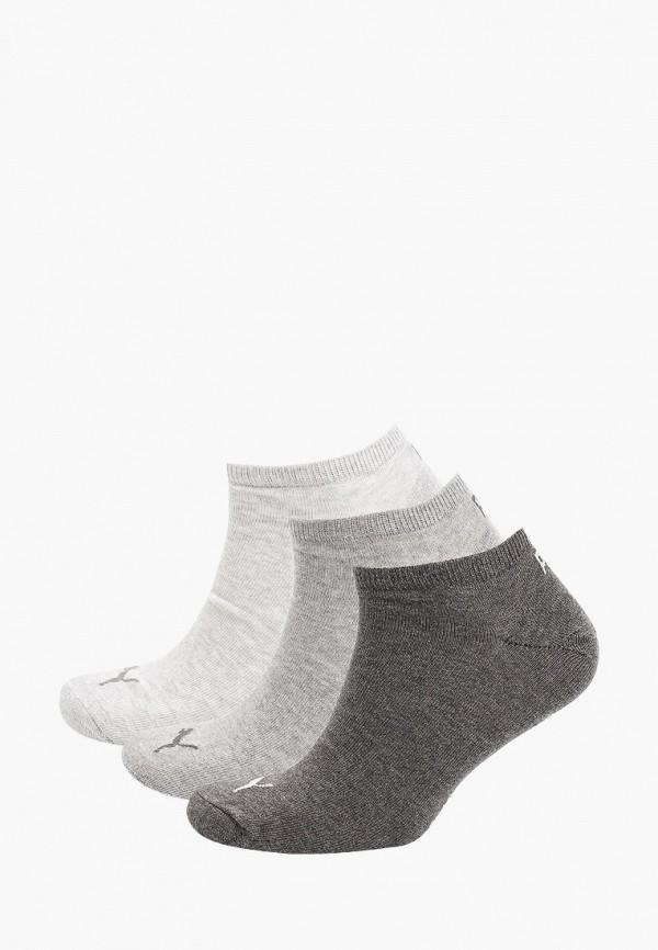Носки 3 пары PUMA серого цвета