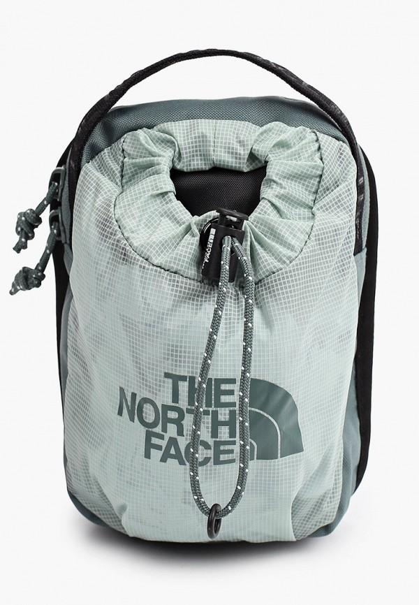 женская спортивные сумка the north face, зеленая