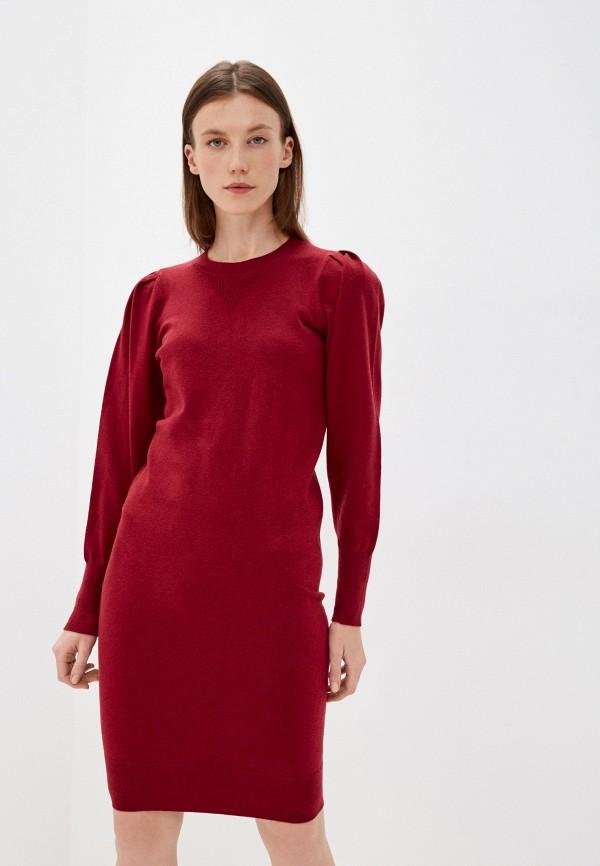 женское платье-свитеры mexx, бордовое