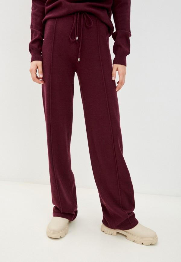 женские повседневные брюки mexx, бордовые