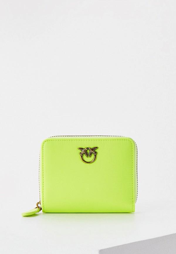женский кошелёк pinko, зеленый