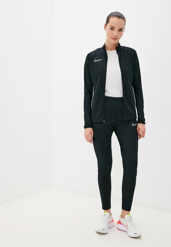 женский спортивный костюм nike, черный