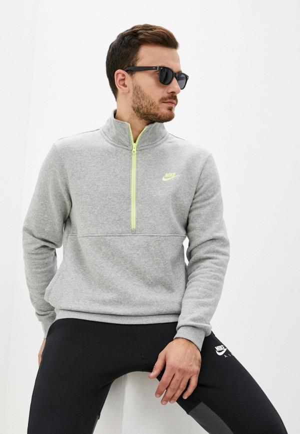 мужской спортивные свитшот nike, серый