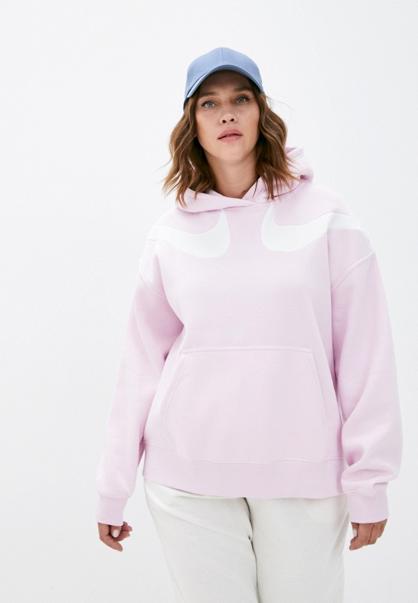 женские худи nike, розовые