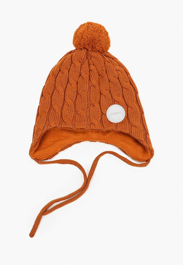 шапка reima малыши, коричневая