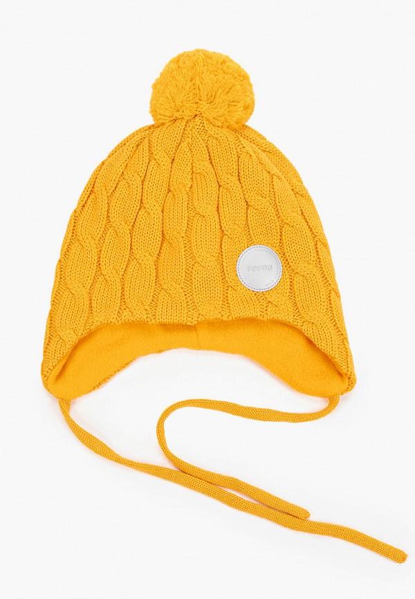 шапка reima малыши, желтая