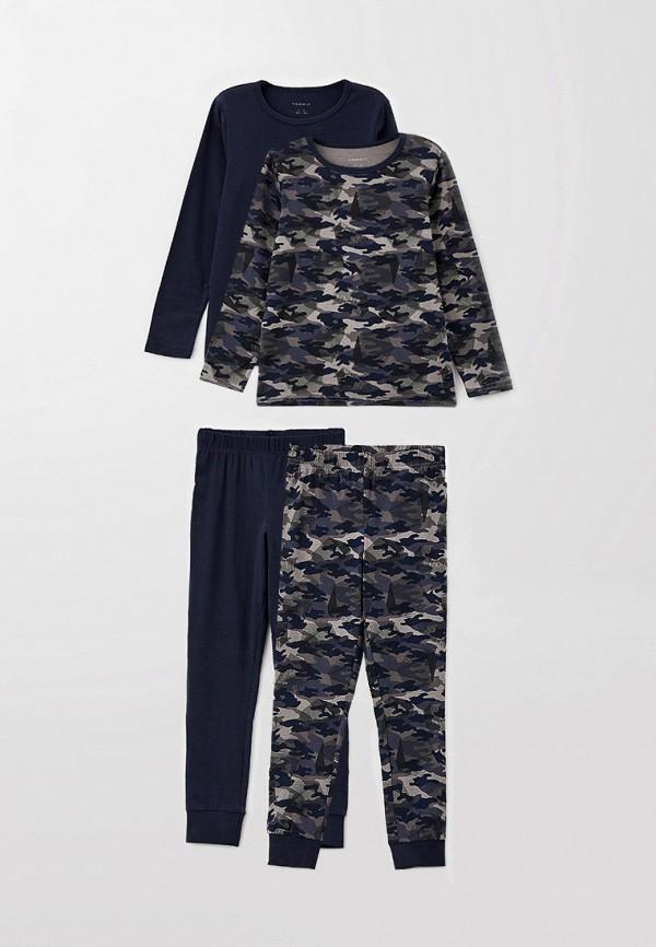 пижама name it для мальчика, синяя