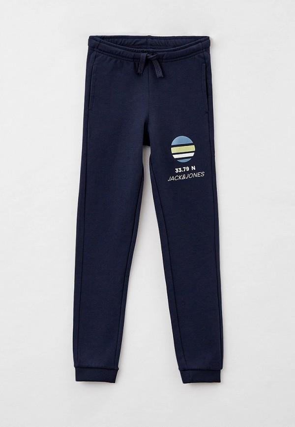 спортивные брюки jack & jones для мальчика, синие