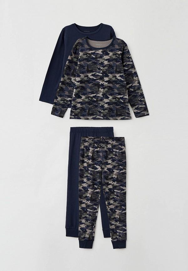 пижама name it для мальчика, разноцветная