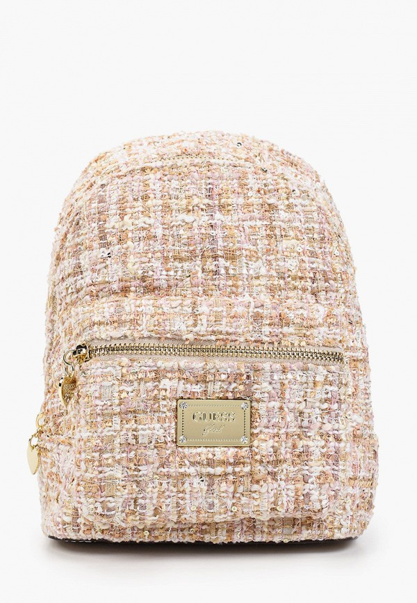 рюкзак guess для девочки, бежевый