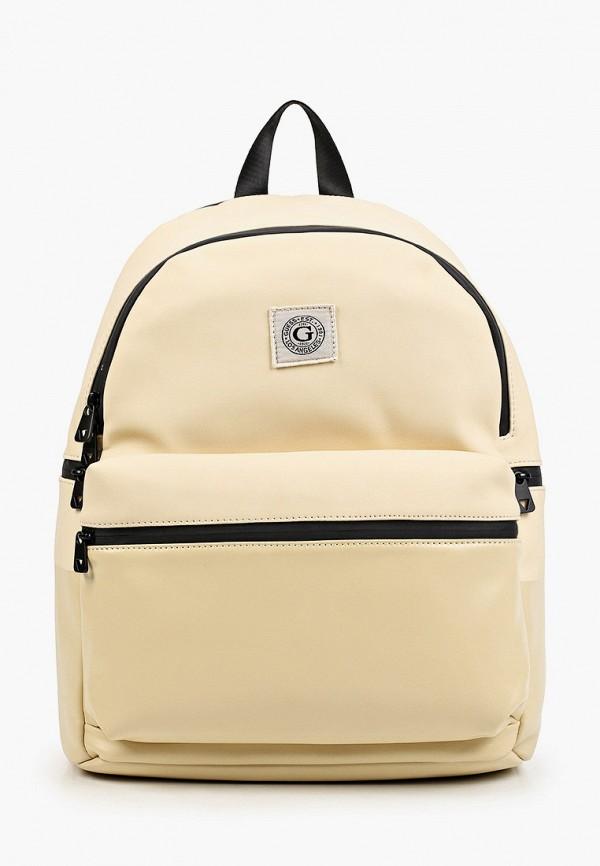 мужской рюкзак guess, бежевый
