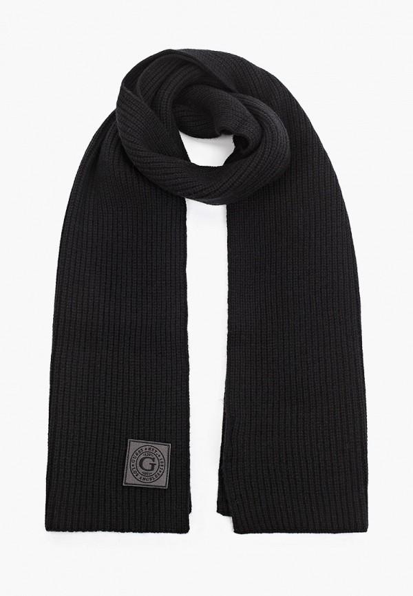 мужской шарф guess, черный