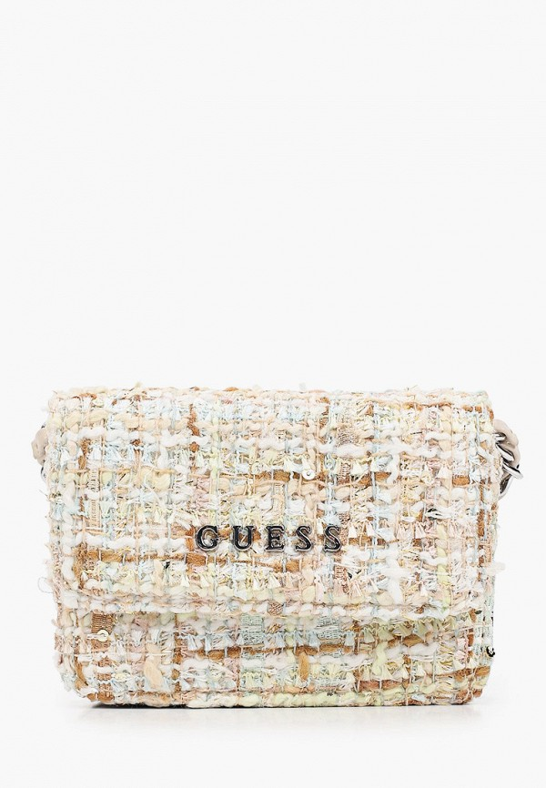 женская сумка через плечо guess, разноцветная