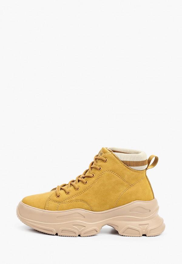 женские высокие ботинки strobbs, коричневые