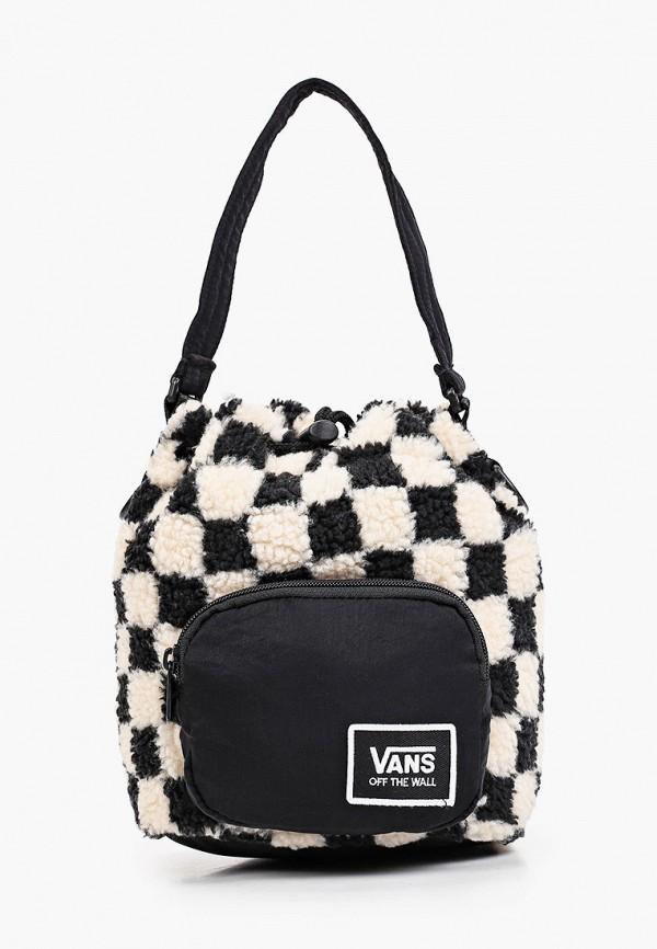 женская спортивные сумка vans, бежевая