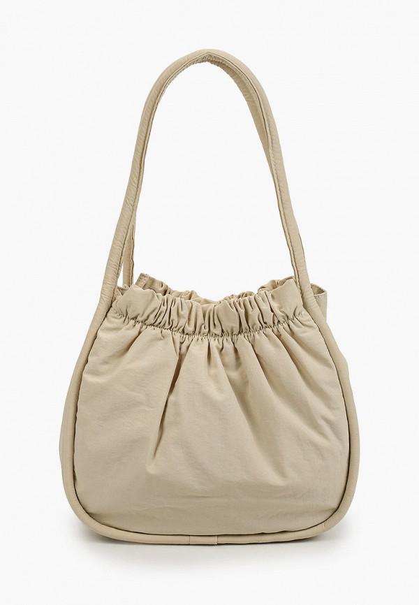 женская сумка с ручками mango, белая