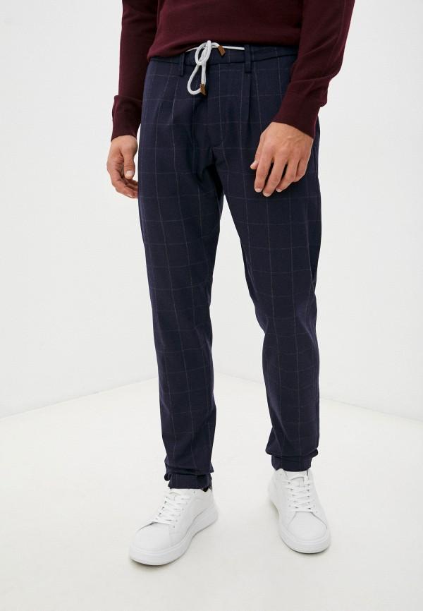 мужские повседневные брюки eleventy, синие
