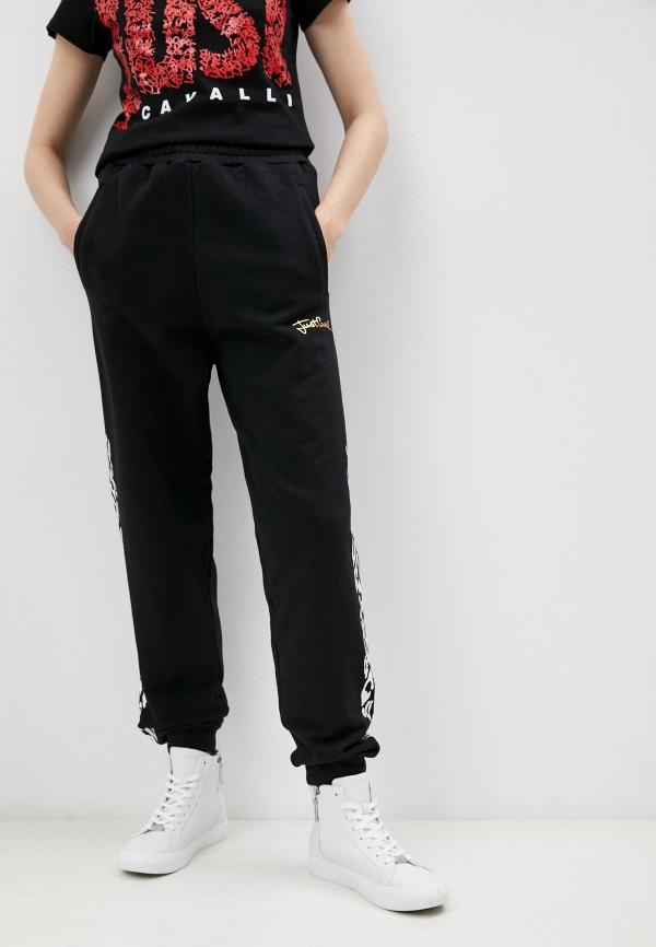 женские спортивные брюки just cavalli, черные