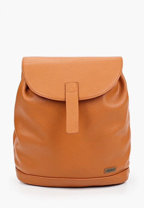 женский рюкзак roxy, коричневый