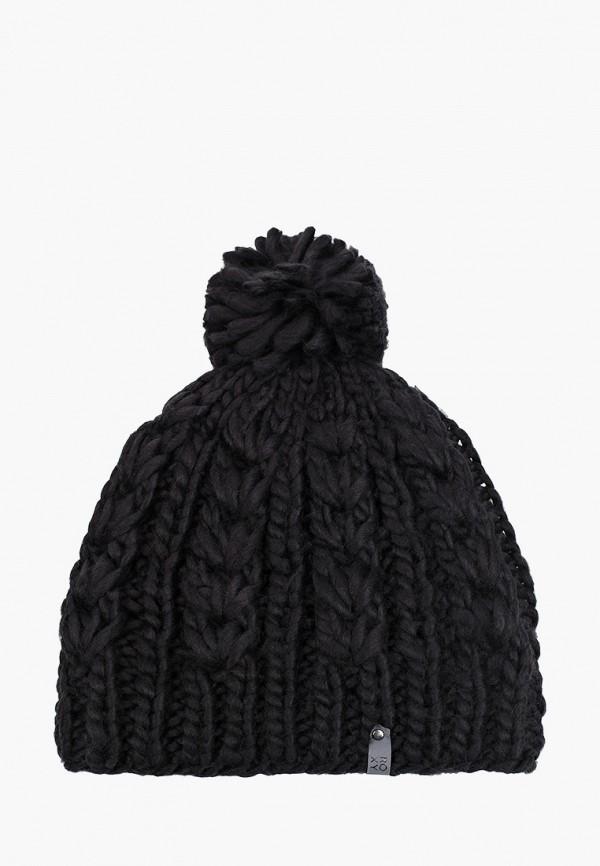 женская шапка roxy, черная