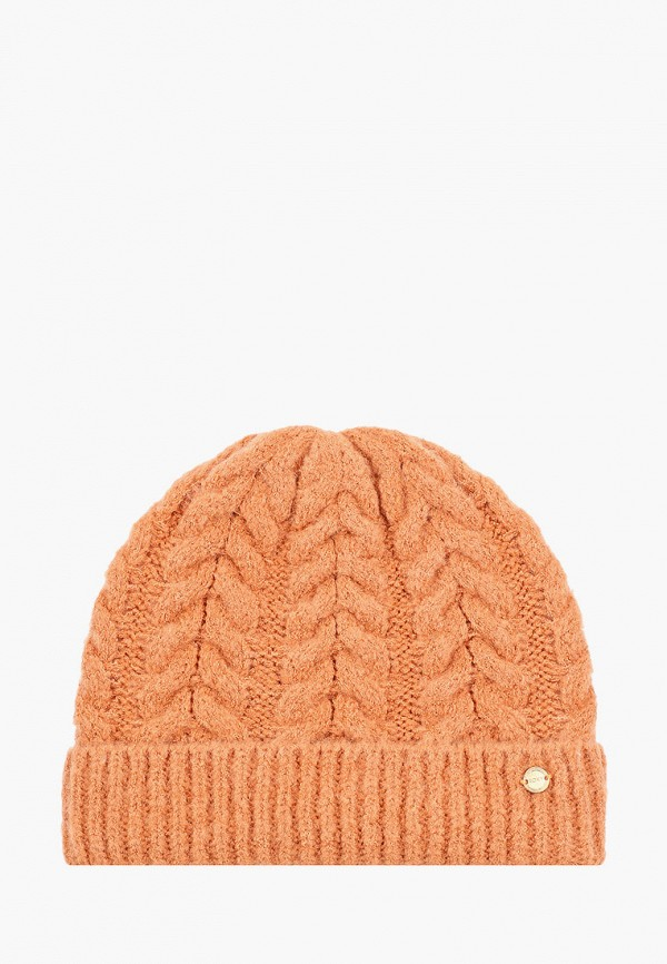 женская шапка roxy, оранжевая