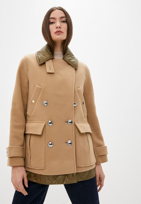женское пальто dorothee schumacher, коричневое