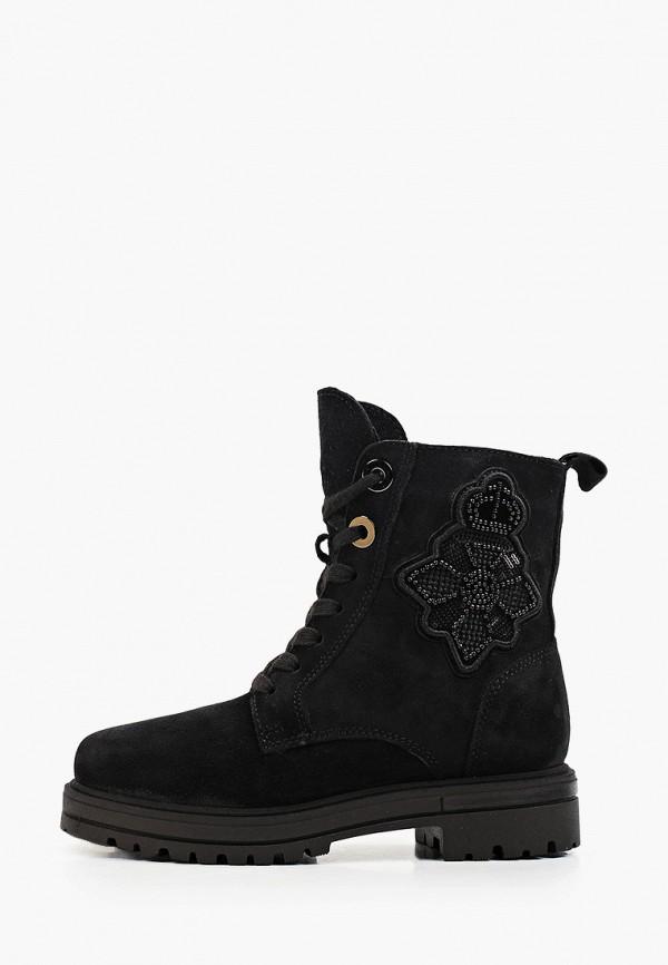 ботинки юничел для девочки, черные