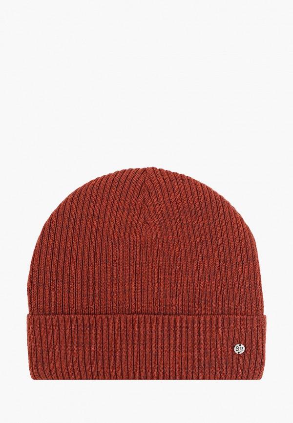 шапка button blue для мальчика, коричневая