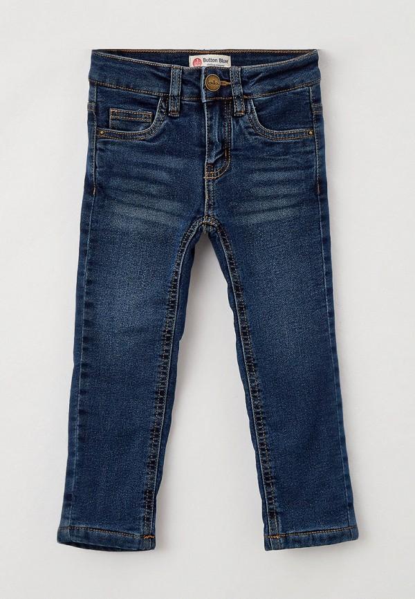 джинсы button blue для девочки, синие