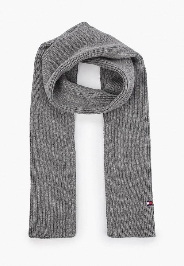 шарф tommy hilfiger малыши, серый