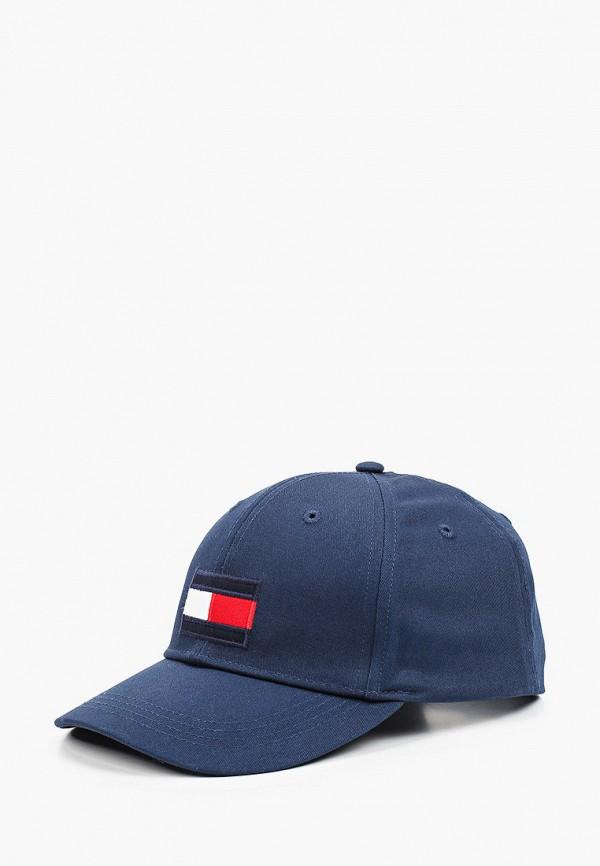Бейсболка Tommy Hilfiger синего цвета