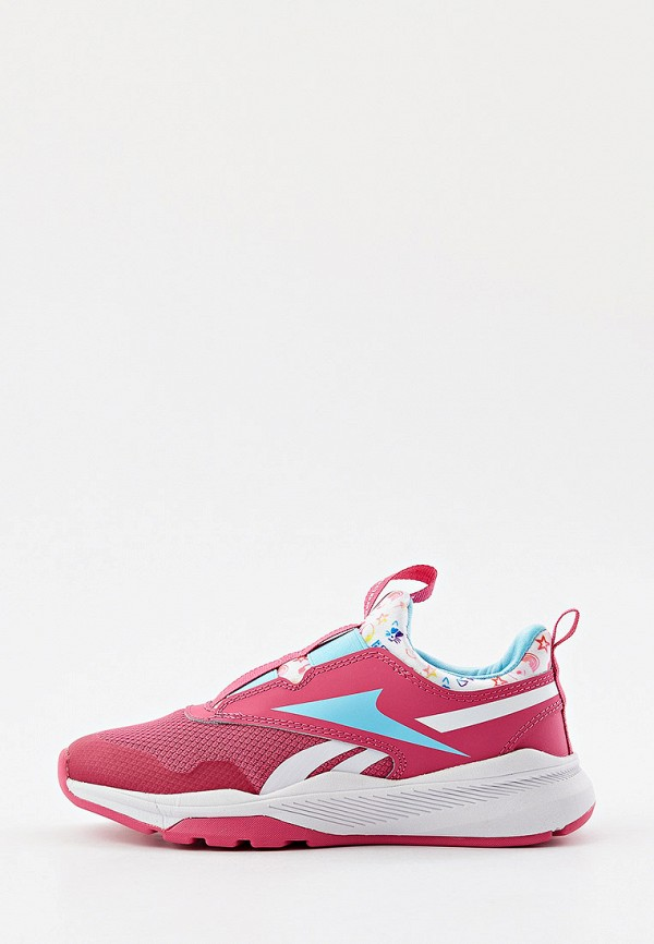 Кроссовки Reebok розового цвета