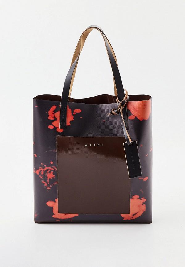 женская сумка marni, разноцветная