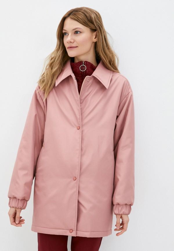 женская куртка shartrez, розовая