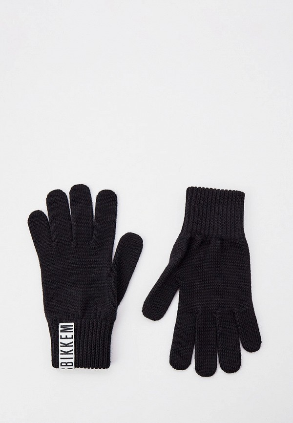 Перчатки Bikkembergs BLACK. Цвет: черный