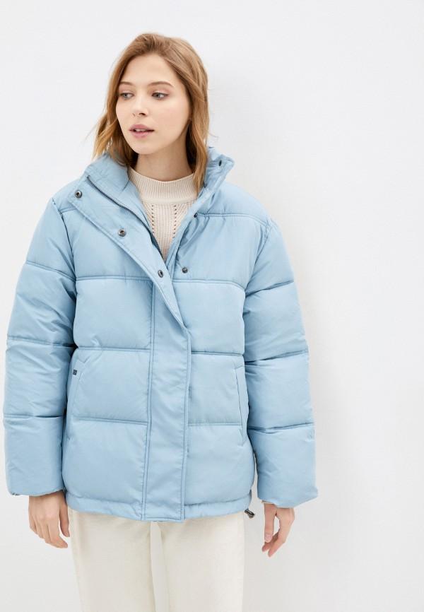 женская куртка unq, голубая