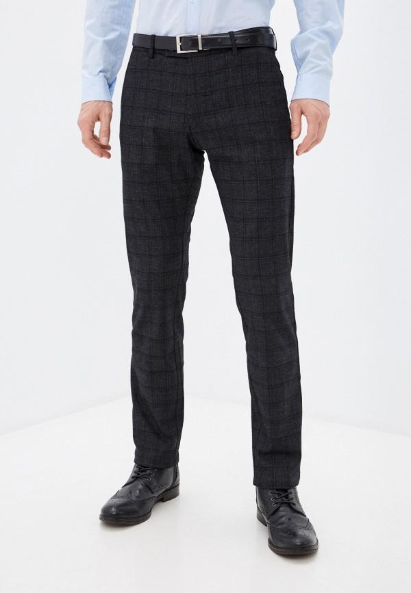 мужские зауженные брюки galvanni, серые