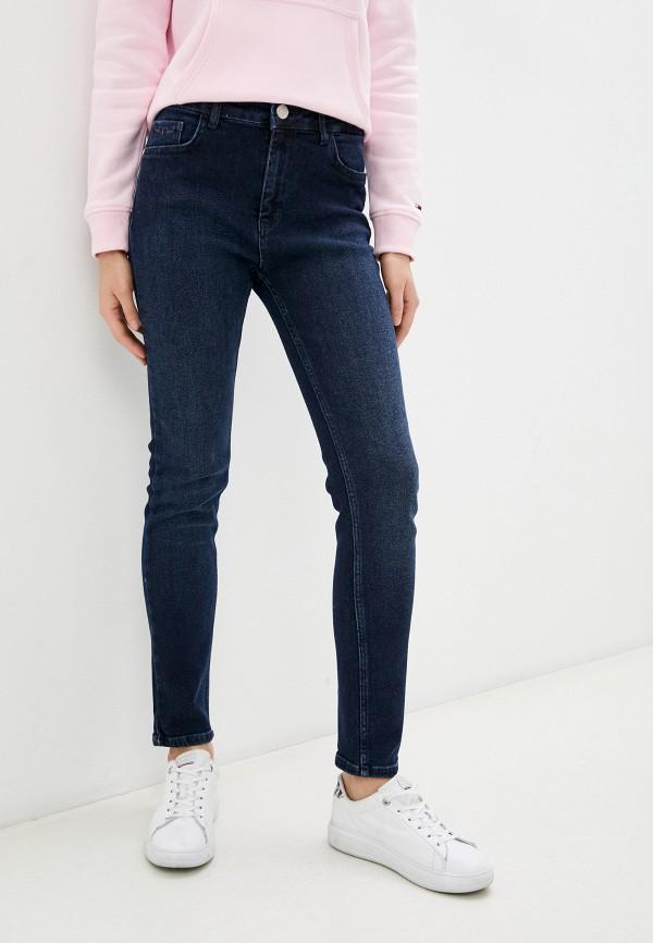 женские джинсы скинни galvanni, синие