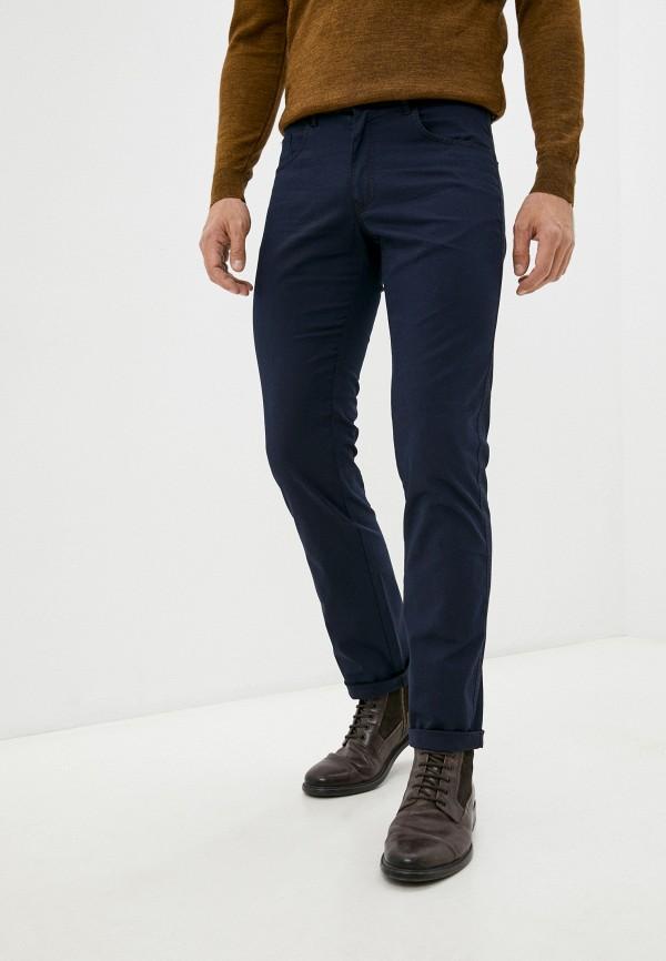 мужские зауженные брюки galvanni, синие