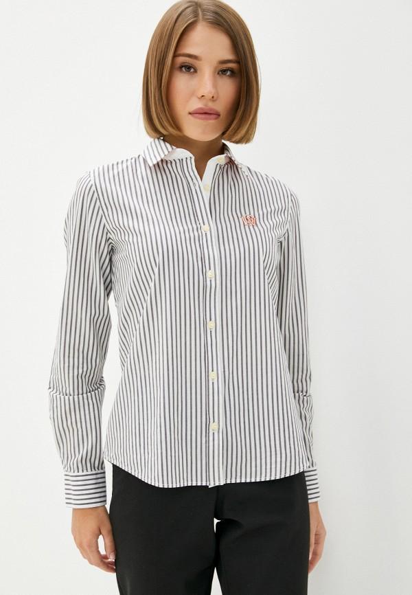 женская рубашка с длинным рукавом galvanni, серая