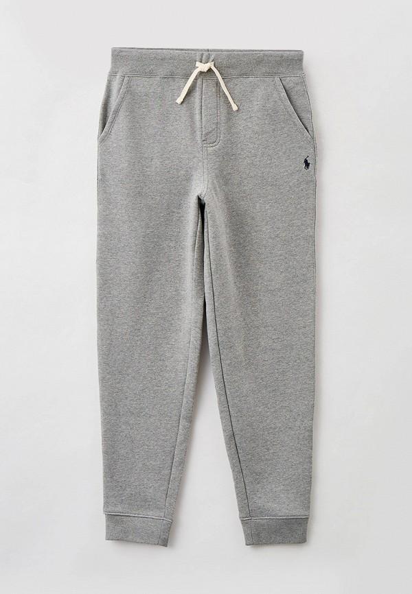 спортивные брюки polo ralph lauren для мальчика, серые