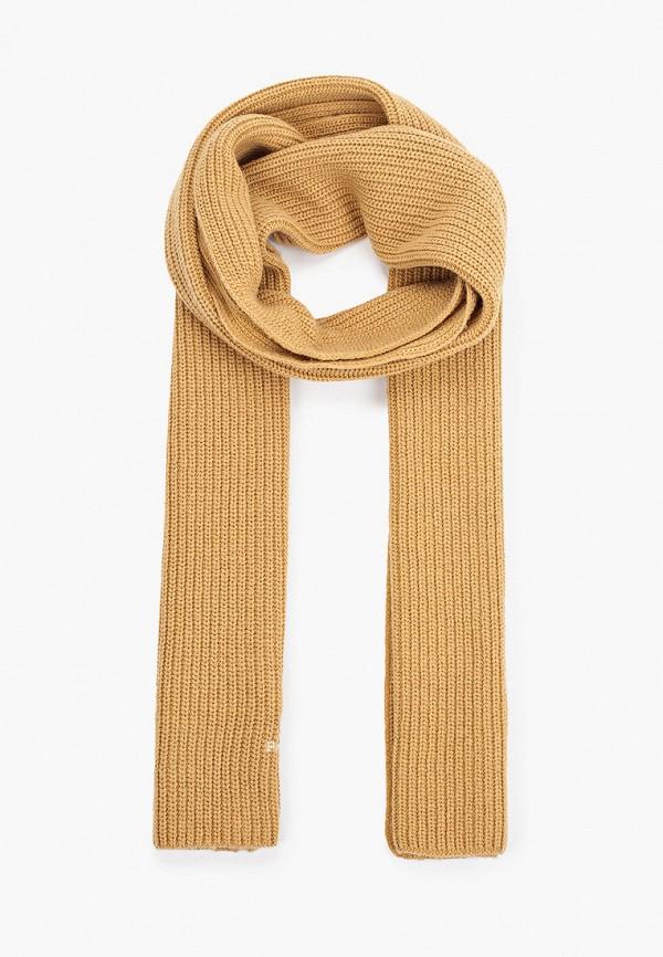 женский шарф polo ralph lauren, бежевый