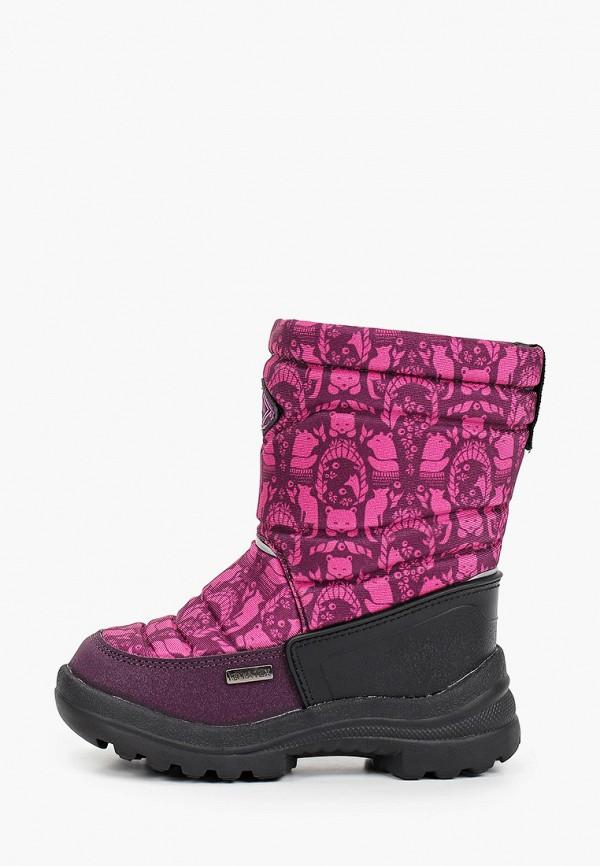 сапоги kenka для девочки, фиолетовые
