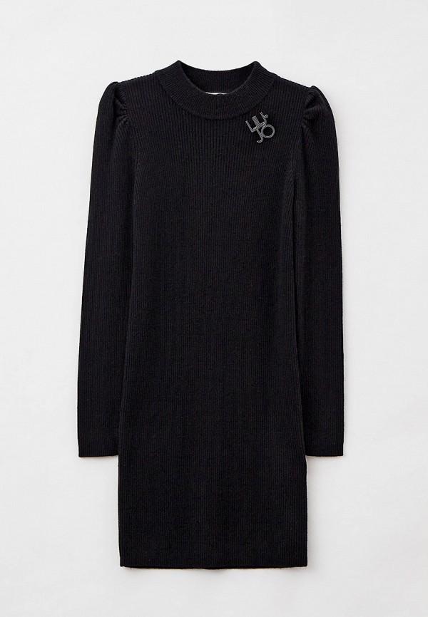 повседневные платье liu jo для девочки, черное