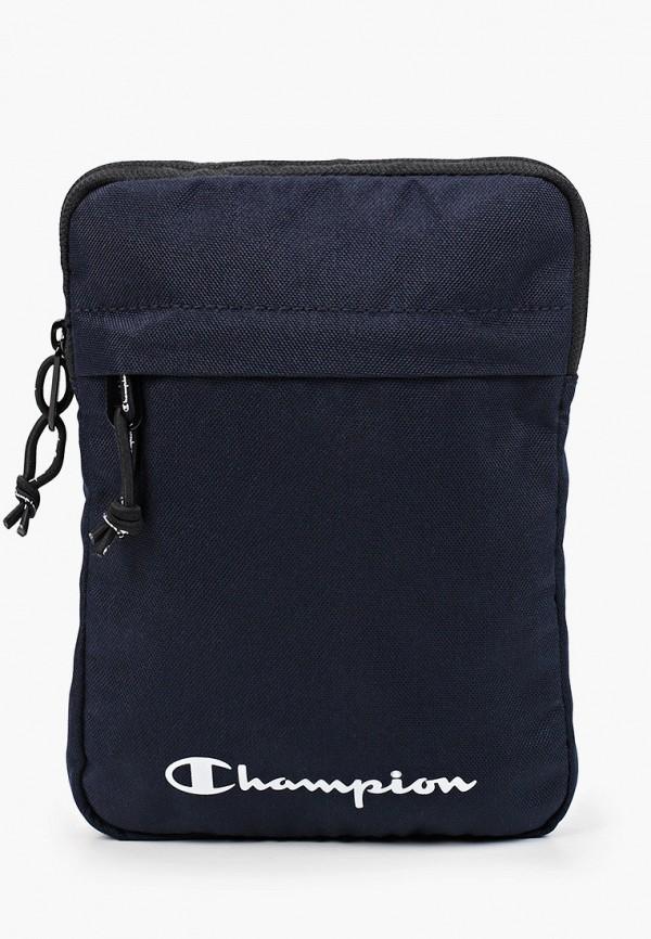 женская сумка через плечо champion, синяя