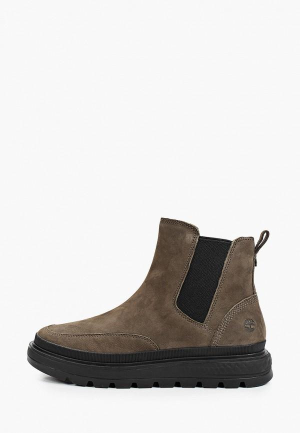 женские ботинки-челси timberland, хаки