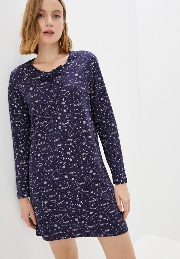 женское платье nymos, синее